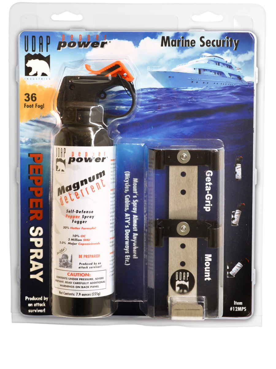 #12MPS Marine Pepper Spray with Mount (fog )