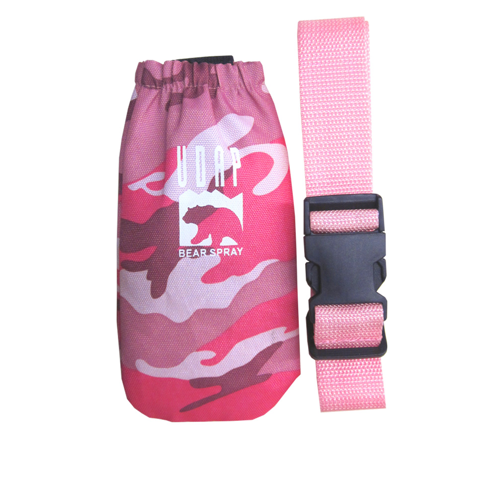#12PBH Pink Camo Hip Holster with Belt (7.9oz. / 225g)