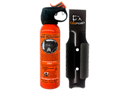 #12SO Safety Orange Bear Spray with Griz Guard Holster 7.9oz 225G