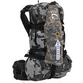 Back Attack Pack Camo - (Bear Spray Backpack Attachment)