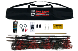 Bear Shock - Bear Resistant Electric Food Storage Fence